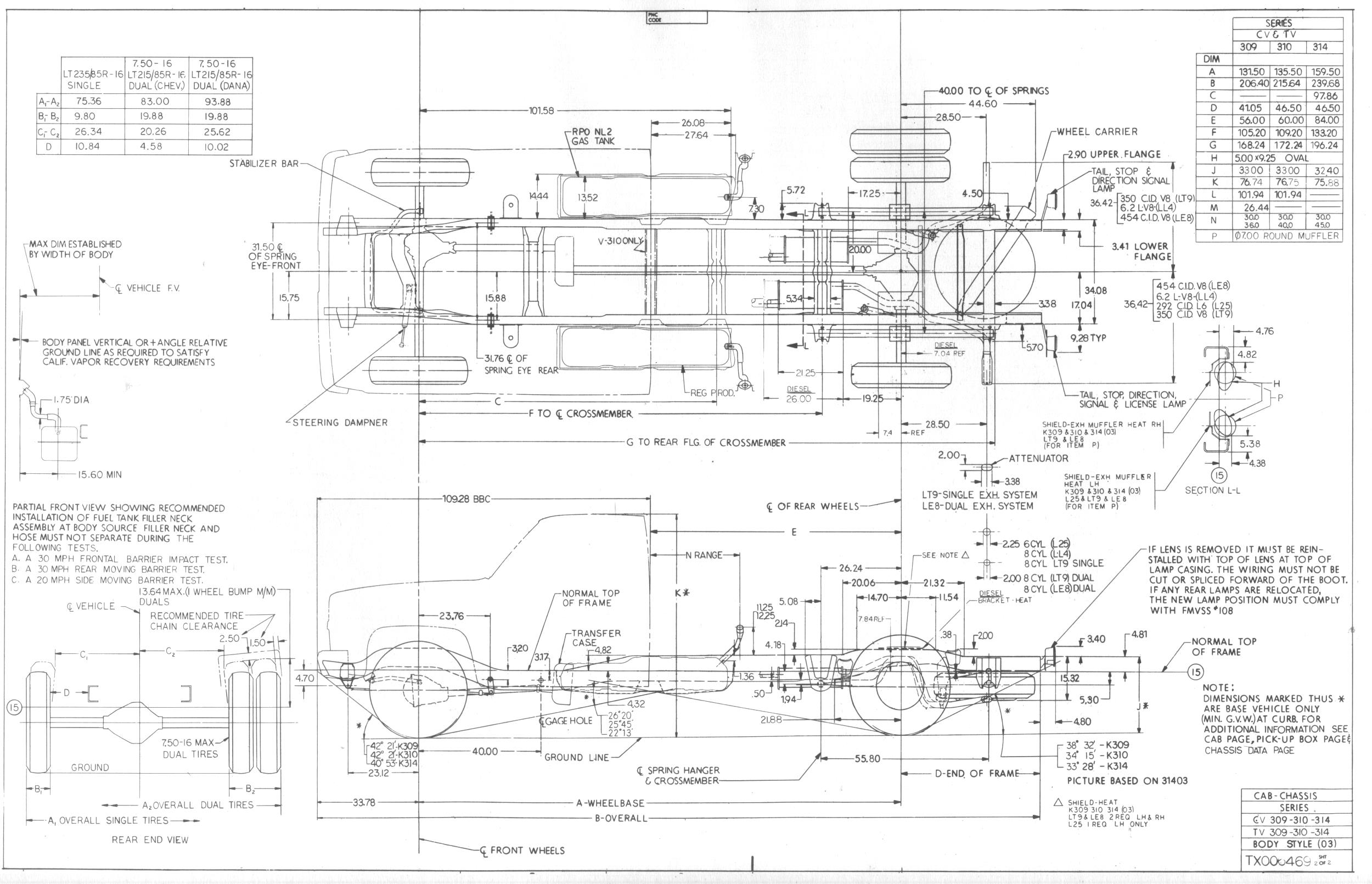 Dimensions on 1956 Chevy Truck Wiring Diagram